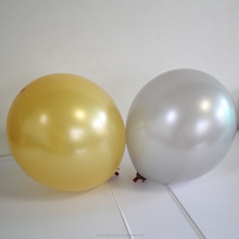 China wholesale metallic balloon gold and silver balloon