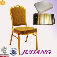 Memory foam Aluminum gold Hotel Chair