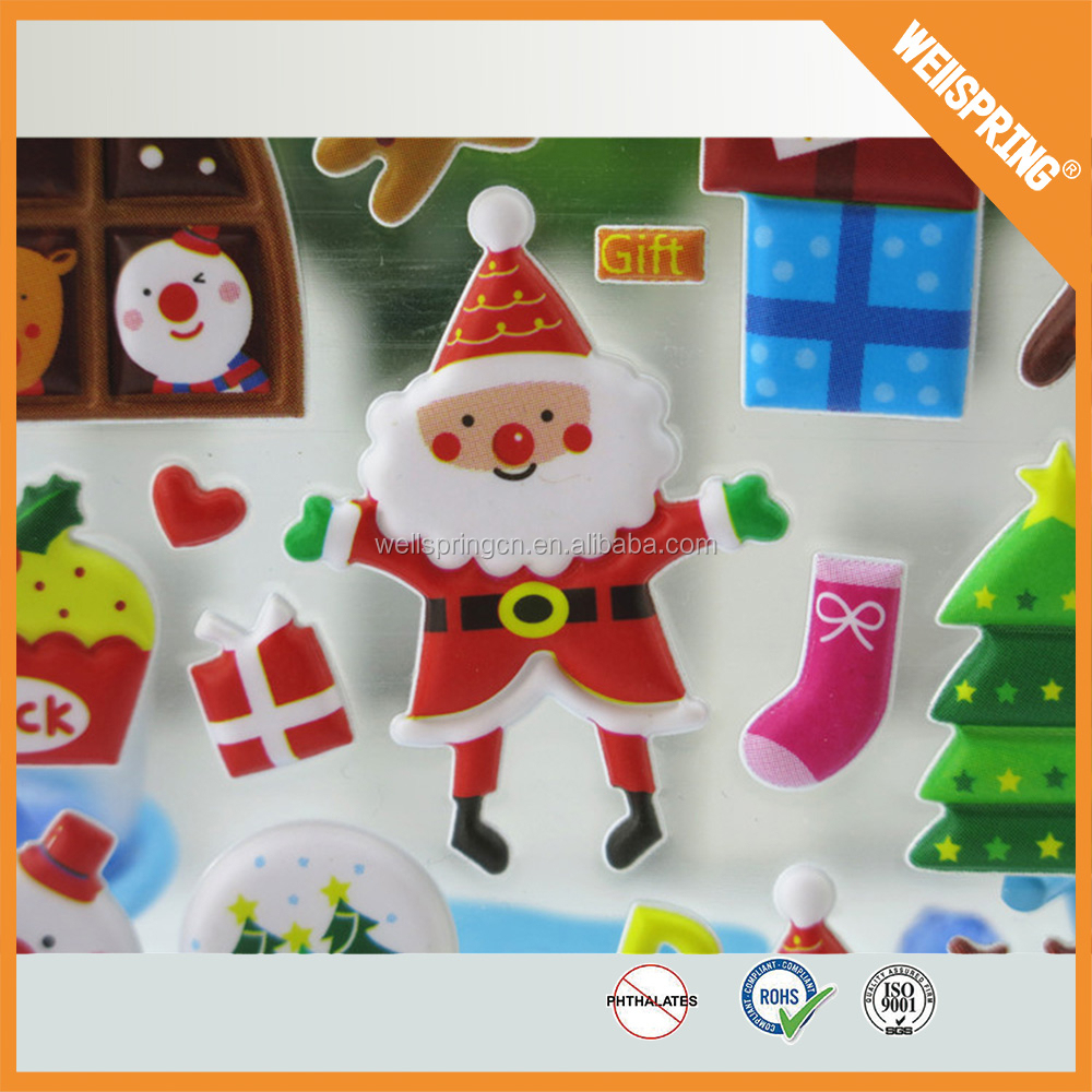 Xg13 wholesale custom room decor kids 3d puffy sponge for Room decor 3d foam stickers