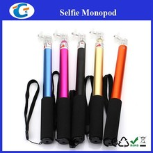 Stainless Selfie Monopd For Phone With Bluetooth Travle Friend SF005