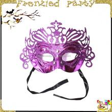 masquerade carnival purple plastic sex mask FGM-0129