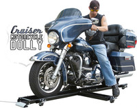 1250LB LOW PROFILE MOTORCYCLE DOLLY HARLEY CRUISER STAND