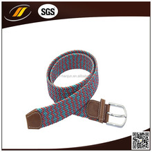 Braided fancy Lady belts with multi colors