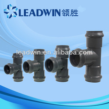 China Supplier Plastic Raw Material Types of PVC Pipe Fittings
