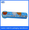 Hot Sale New Cartoon Tin Pencil Box Cool Metal Tin Pencil Box Manufacturer