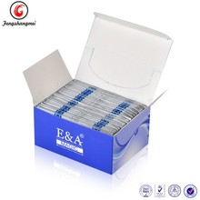 E&A fashion package cleanser warps 5*5CM Factory Direct Sell With High Quality