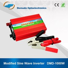 1KW inverter dc 12v to ac 220v Best modified dine wave inverter for computer and latop DMD CE Compliant