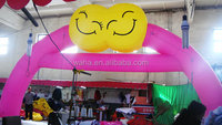 inflatable wedding arches/inflatable arch price