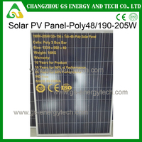 250w poly solar with 72 pieces photovoltaic panel price