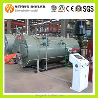 Chinese Best Service 3-Pass Fire Tube Oil Gas Steam Boiler Manufacturer