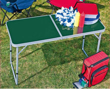 High quality Aluminum Outdoor Furniture Metal&Wood Folding camping table