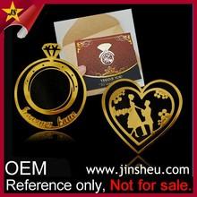 Manufacturer Wholesale Promotion Custom Photo Etched Metal Book Mark