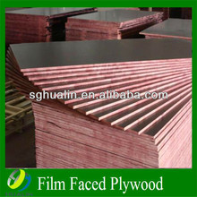 15mm film faced plywood /waterproof building construction materials