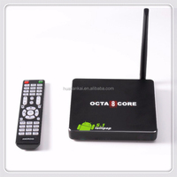 Sex Pron Video 2G/16G TV box 8 Core Octa Core H.265 RK3368 Google Android 5.1 Smart TV Box 4K 2K