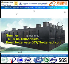 Environmental Protection Plant Container Integrated Waste WaterTreatment System