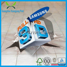 Export Worldwide Countries Custom Full Color High Res graphic 3d floor sticker printing