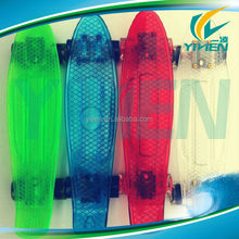 22 inch penny ABS plastic transparent hoverboard