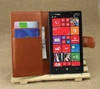 Litchi Pattern Soft Wallet Stand Leather Case For Nokia Lumia 929 930