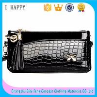 2015 Wholesale High Quality Women Handbag Leather Custom Clutch bag
