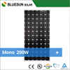 ISO CE TUV UL certified mono solar pv modules 200w with cheap price