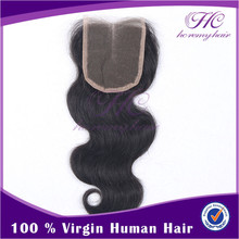 wholesale price cheap malaysian body wave top hair closure pieces