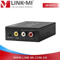 Factory LINK-MI LM-SAV1 3G 1080p 2CH Audio HD SDI to AV Converter