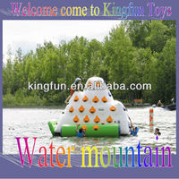 Excellent inflatable water mountain for water climbing