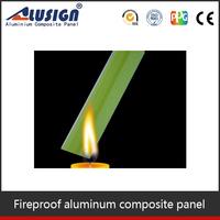 Alusign fire resistant decorative aluminum plastic composite panel wall panel
