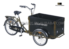 Model UB 9005 Three wheels nexus 3 speeds cargo tricycle/trike/family tricycle/cargo bikes china/reverse trike for sale