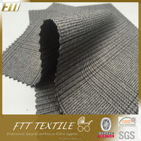 Polyester Jacquard Houndstooth Wholesale Fabric