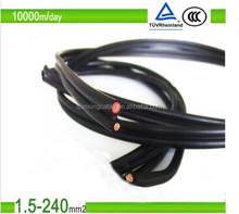 Jiukai TUV PV1-F tinned copper pv single 6mm solar cable