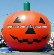 2013 Halloween Lighted Inflatable Orange Pumpkins Yard Lawn Decoration S8009