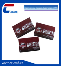 Frosted lamination PVC card /Machine Printing Hot Stamping Gift PVC Card