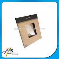 Recycled Brown Kraft Paper Envelopes with PVC Window