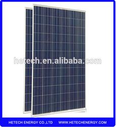 Import solar panels 25 Years Warranty Price Per Watt Poly 295W Suntech solar panel price