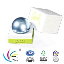Perfume packaging box with lid