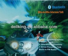 400m Bluetooth intercom for motorcycle helmet