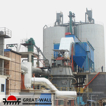 hydrated natural gypsum powder production line project