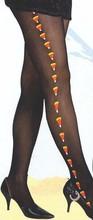 40D Adult rhythm tights, print candy (2 color)