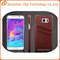Olja wallet leather cover case for samsung note 5,for samsung note 5 case factory price