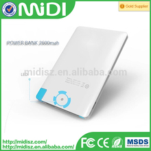 alibaba hot selling promotion gifts power bank card power bank accept customizing picture