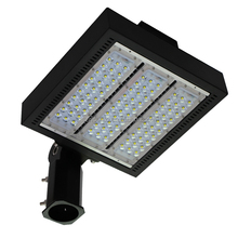 Black housing colour,>15000lumen,100-277V,Shoebox LED Street Light 150W with UL cUL DLC listed