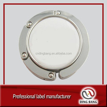 DB magnetic custom logo purse hanger hook