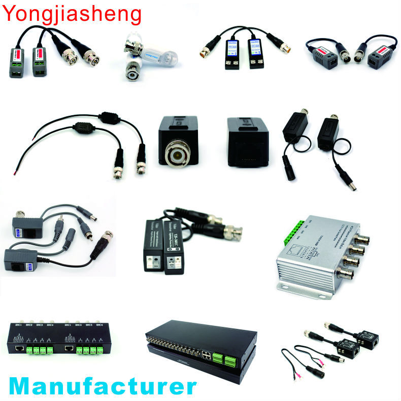20PCS/10Pairs 2011HD high quality UTP AHD Twisted BNC CCTV video balun transmitter