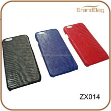 high quality real lizard skin leather case for Iphone 5S / 6 / 6 plus