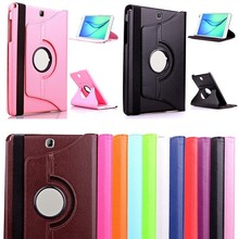 360 Rotating PU Leather Smart Case Cover For Samsung Galaxy Tab A 9.7 T550 / T555