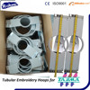 Round Tubular Hoops for Tajima embroidery machine