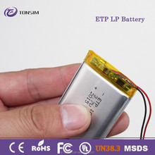 long cycle life good quality li-ion battery 3.7v 1500mah
