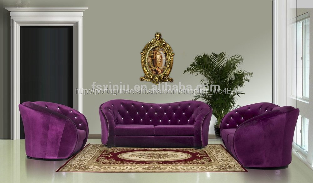 Elegante casa mob lia do sof sala moderno seccional sof - Fabricant francais de canape ...