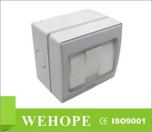 Wehope Newest waterproof switch 20A waterproof light switch cover